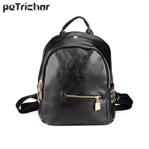Petrichor Girls Backpacks Casual Solid Softpack Bags with Cell Phone Pocket Teenage College Student Bag  Designer Bag