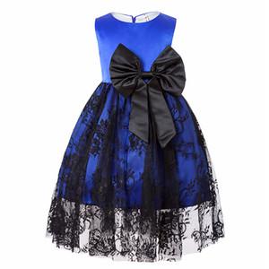 New Girls Dress Lace Puff Princesse Dress Dernier Design Enfants Vêtements Fête D'anniversaire Princesse Dress Halloween Custume