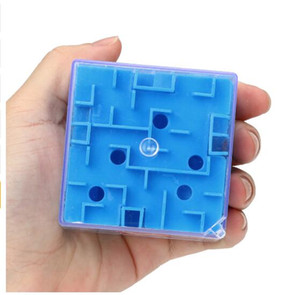 2 قطع 3d مكعب لغز لعبة المتاهة لعبة اليد حالة مربع متعة الدماغ لعبة التحدي تململ لعب الرصيد ألعاب تعليمية للأطفال