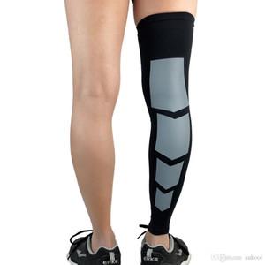 2018 Nuovo Arrive Scaldamuscoli a compressione Leg Cover Basket Running Pallavolo Cycling Protezione UV Copertura elastica per le gambe