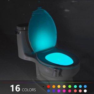 더 어두운 욕실이 없음 ...이 모션 센서 야간 조명은 야간에 누군가가 욕실에 들어가면 자동으로 켜지 며 자동으로