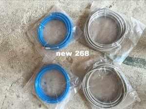 Freeshipping UPGRADING!!! STEEL Hose For waterproof crack repair pump injection 12000PSI