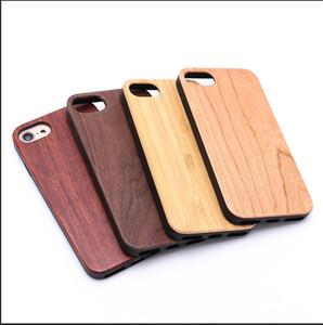 الرجعية ريال الخشب + tpu الحالات الهاتف شعار مخصصة لفون 7 8 زائد 10x5 ثانية 6 6 ثانية خشبية غطاء الهاتف المحمول الخيزران المحمول لسامسونج s9 s8 s7