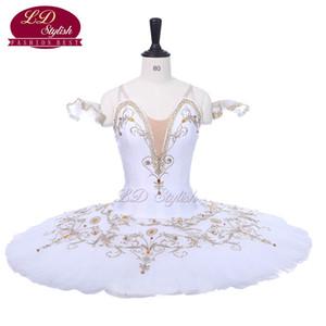 Weiß Erwachsener Berufsstadiums-Ballett-Ballettröckchen Der Swan See-Leistungswettbewerb Kostüme Frauen-Ballett-Tanz Apperal Kinder-Ballett-Rock