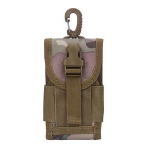 Assaut militaire Molle Mini Fanny Taille Pack Hip Bum Pouch Bourse Haute Qualité Hommes Nylon Crochet Cell / Mobile Téléphone Case Ceinture Sac