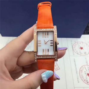 Yeni Çift modeli 2018 Lüks Kadın Erkek Elbise Saatler Moda Bayanlar unisex tasarımcı İzle Deri Kol Saati Reloj de pulsera