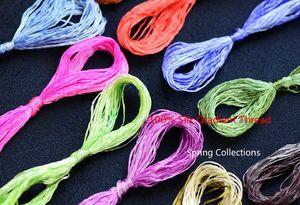 High Quality 30skeins Gradient 100% silk embroidery Suzhou embroidery thread Silk Floss Handmade Woven Threads