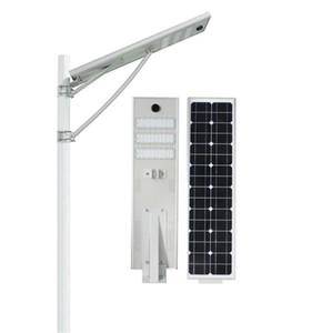 20W 30W 50W الصمام ضوء الشارع الشمسية في الهواء الطلق للماء IP66 تصميم متكامل رادار الاستشعار البير استشعار الضوء الذكي