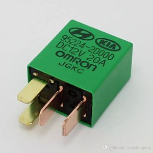 Car Violet Relay for KIA Hyindai 12V 20A OMRON 4 Pins Green color