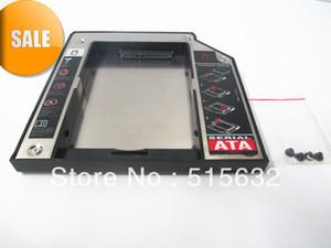 Freeshipping Ultrabay Ince SATA Modülü için 2 Hdd Sabit Disk Caddy Lenovo ThinkPad T400 T500 Yeni 9.5mm