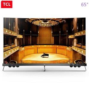 schermo TCL da 65 pollici proto-quantum dot curva piena HDR ecologica intelligente Ultra HD 4K Shipping6 di punizione con TV