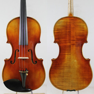"Antonio Stradivari ""Dolphin"" 1714 Violine Kopie, Bestes Modell! 4/4 Violin Violino, Öllack, Hervorragender Strong Tone!"