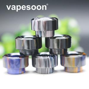 VapeSoon Renkli 810 Konu Epoksi Reçine Geniş Çap Damla İpucu için Kylin mini RTA Reload MANTA DJV RDAT 528 vb ePacket Ücretsiz Kargo