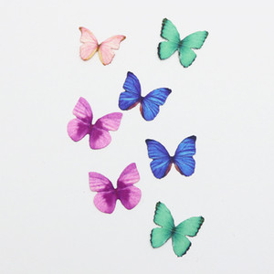 12PCS 3D PVC Magnetic DIY Butterfly Wall Decoration Sticker Home Room With Double Side Glue Fridge Magnet lin2613