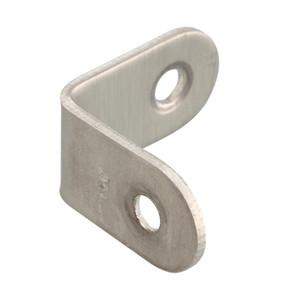 Wholesale Brand New Corner Brace 20 25 30 40mm Stainless Steel 90° Angle Bracket Pelmet Repair