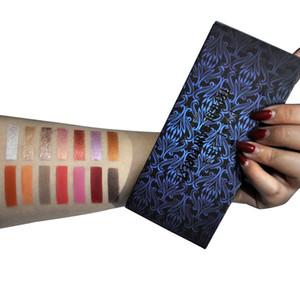 DHL free HANDAIYAN 14 Colors Matte Eyeshadow Palette Somkey Makeup Waterproof Glitter Eye Shadow Palette Cosmetics TROPICAL RENAISSANCE