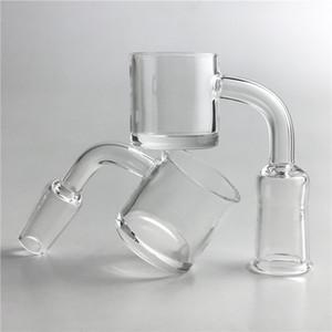 XXL quartz banger clou 2mm seau à miel épaisse 4mm fond 30mm quartz banger avec 10mm 14mm 18mm pour pipe à eau en verre