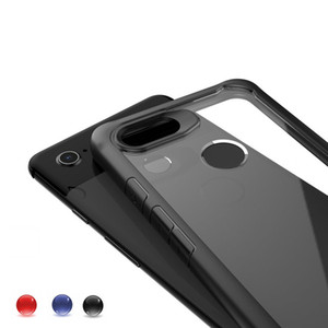 Acrylic TPU&PC Back cover for Google Pixel 3XL Case Coque Google Pixel3 XL Case Hybrid Transparent Back cover for Pixel 3 Case