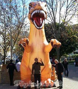 Гигантский открытый 6м юрский дракон надувной динозавр для парка / улицы / события