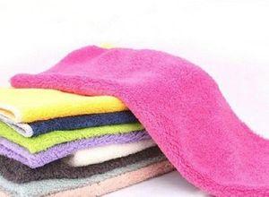 Special wholesale natural wood fiber non-stick oil rags non-stick oil kitchen towel multi-purpose dish towel fiber scouring pad
