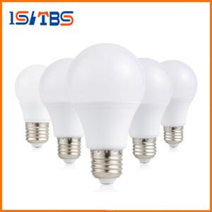 E26 E27 Dim LED Ampuller Işık A60 A19 12 W SMD LED Işıkları Lamba Sıcak / Soğuk Beyaz AC 110-240 V Enerji Tasarrufu