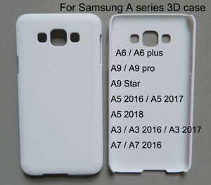 Cassa del telefono 3D sublimazione per samsung galaxy A3 A5 A7 A8 2016 2017 2018 A6 plus A9 pro Star stampa personalizzata 10 pz / lotto