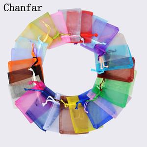 100 stücke 24 farben schmuck tasche 13x18cm hochzeitsgeschenk organta tasche schmuck verpackung display schmuck beutel weihnachtsgeschenk