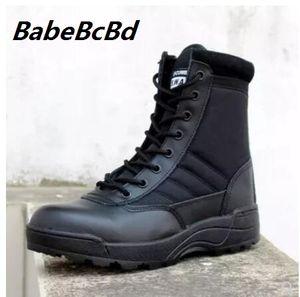 2017 novo nós botas de couro militares para homens Combate bot infantaria botas táticas askeri bots exército bot sapatos exército Erkek AYAKKABI
