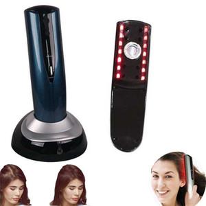 Outils de dispositif de brosse de massage électrique de tête Restauration Kit de peigne Traitement de soins capillaires Laser Peigne de massage de peigne de cheveux 110v, 220v