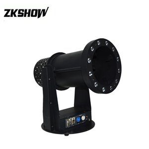 80% Discount 1200W Launcher Confetti Machine DMX DJ Disco Wedding Party Event LED Cylinder Round Professional Stage Lighting Equipment