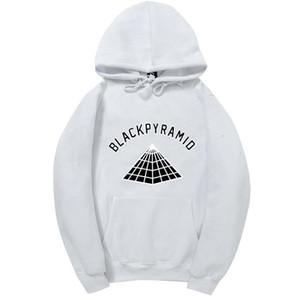 04.00 Chris Brown BLACK PYRAMID Hip Hop Hoodie Männer und Frauen Sweatshirts Skateboard Street Style Cotton Anzug Hoodies