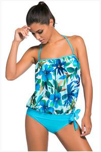 2018 tankini maiô de duas peças terno Bikinx Sports swimwear mulheres cintura alta biquíni brasileiro banhistas Thong feminino swimsuit