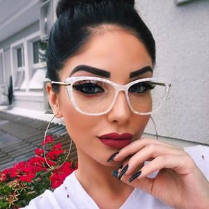 45591 Moda Kare Gözlük Çerçeveleri Kadınlar Trend Stilleri Marka Optik Bilgisayar Gözlük ulculos De Grau Feminino Armação