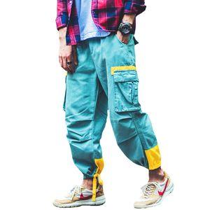 Pantaloni da uomo autunno Pantaloni da corsa Pantaloni cargo da uomo Pantaloni da equitazione casual