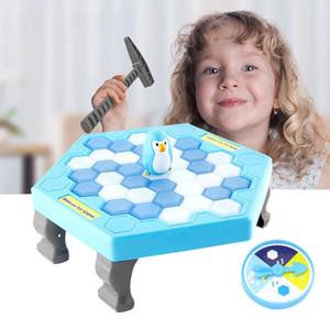 Пингвин ледокольных Логические Настольные игры Баланс Кубики Knock Ice Block Wall игрушки Desktop отцовство Interactive Family Fun Game