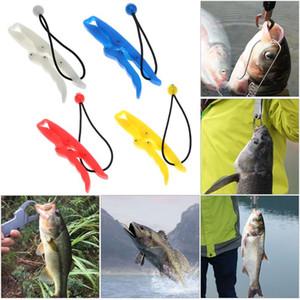 17.5cm ABS Plástico Flotante Gripper Fish Grabber Luminous Controller Pesca Lip Grip Flipper Gripper Pesca Alicates Herramienta de Pesca