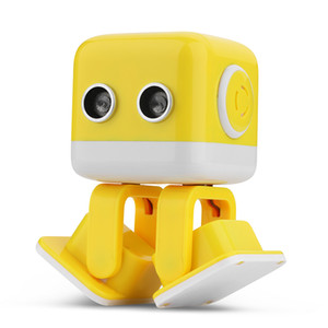 Cubee F9 Dancing Robot Bluetooth Music Player Infrared   Wifi APP Android Intelligent Entertainment Robot with Dance Music for Kid Gift