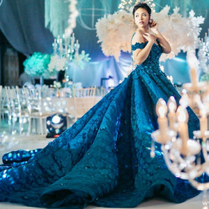 Beads Lace Ball Gown Evening Dresses See Through Jewel Neck Sequins Applique Dubai Eveing Gowns Fascinating Saudi Celebrity Prom Dresses