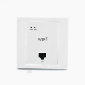 Branco WiFi sem fio em Wall AP alta qualidade quartos de hotel WiFi Tampa Mini Wall-mount AP Router Ponto de Acesso