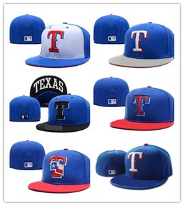 En gros 2018 Top vente de nouveaux chapeaux Fitted Casquettes Baseball Hat Couleur de dos Texas Toutes les combinaisons Mix Taille Ordre Tous les casquettes Chapeau de haute qualité