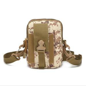 Molle compatibile militare Gear Tactical Pouch Outdoor Sports Alpinismo esecuzione cellulare Marsupio Marsupio con tracolla