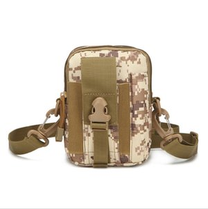 Molle Compatible Military Gear Tactical Pouch Deportes al aire libre Montañismo Running Cellphone Riñonera Fanny Pack con correa para el hombro