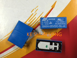 Бесплатная доставка(5pieces/много)100%оригинал новый разделить SMIH-05VDC-SL с-в SMIH-12В-СЛ-с SMIH-24VDC в-СЛ-с 6 контакт 16А 5В 12В 24В реле