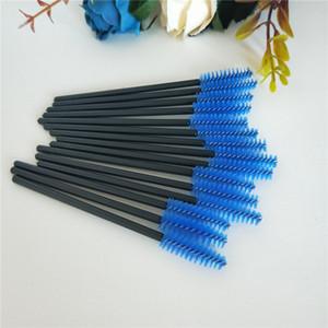 Seashine free shipping lash mascara wands disposable eyelash brush colorful eyelash volume lash comb makeup eyebrow shaping tools