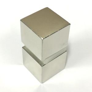 2PCS Super Strong aimant néodyme N52 Rare Earth Magne Block Rare Earth Neo néodyme magnétique bloc Matériaux