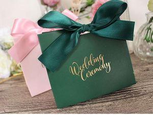 Свадебные конфеты Box Подарочные коробки Tote Bag Reticule Сувенирные свадебные принадлежности Европейский стиль Модный Изысканный Прекрасный