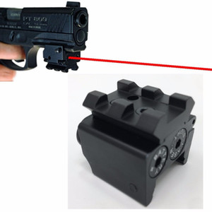 Alta Qualidade Mini Tactical Red Dotted Pequena Mira A Laser Red Dot Lazer Sight Mira Airsoft Laser Sight Tools