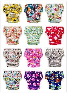 10 adet Kullanımlık ve Yıkanabilir Bebek Yüzme Bezi Yüzme Nappy Bebek yüzme pantolon