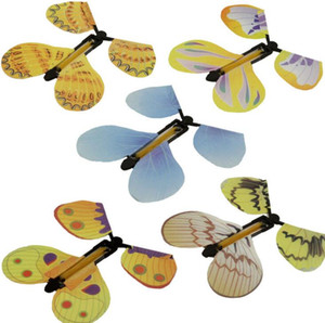 Magic Toys Hand Transformation Fly Butterfly Magic Tricks Props Funny Novelty Surprise Prank Joke Mystical Fun Classic Toys