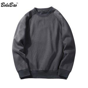 BOLUBAO 2018 Autumn  Men Casual Hoodies Sweatshirt Solid Color Fleece Polyester Pullover Coat Warm Hoodies Male